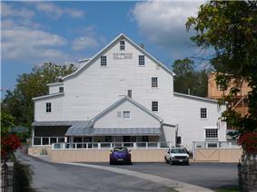The Mill in Edinburg, Virginia (1848).