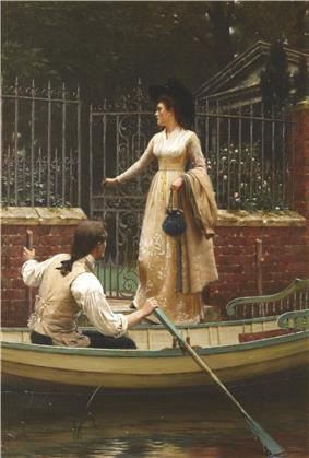 Edmund Blair Leighton - The Elopement - 1893.jpg