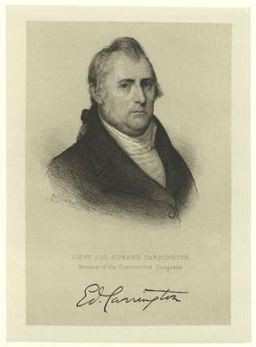 Print shows an unsmiling man in a dark coat with a white shirt. His signature is below.