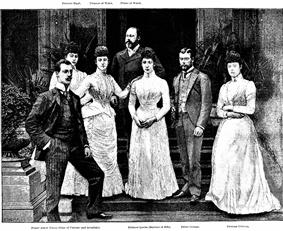 Royal family group