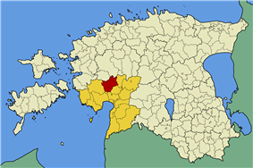 Halinga Parish within Pärnu County.