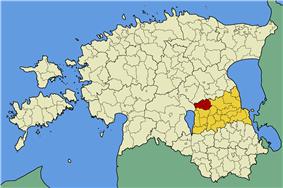 Laeva Parish within Tartu County.