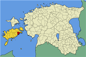 Laimjala Parish within Saare County.