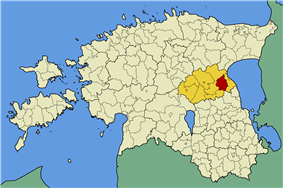 Saare Parish within Jõgeva County.