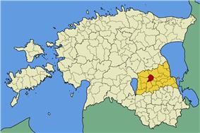 Tähtvere Parish within Tartu County.