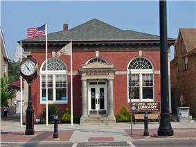 Egg Harbor Commercial Bank, now the local library