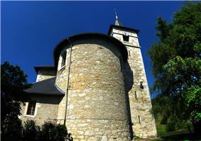 The church in Saint-Sulpice