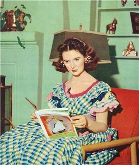 An image of Margaret O'Brien in Eiga no Tomo (November 1952)