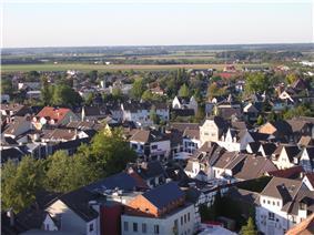 Aerial view of Rheinbach