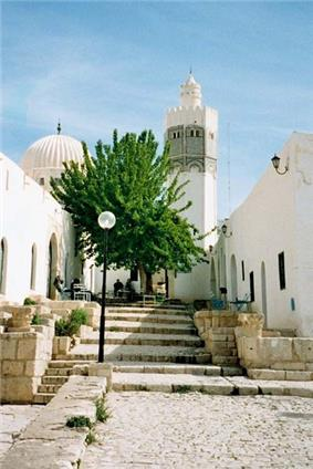 A mosque in El Kef