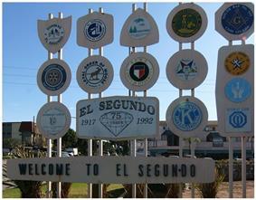 El Segundo Welcome Sign