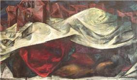Photo of painting by Elaine Hamilton