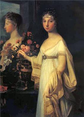 Elizabeth Alexeevna with mirror by J.L.Mosnier (1802, Tretyakov gallery).jpg