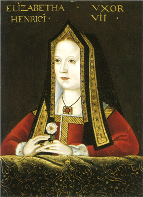 Portrait of Elizabeth of York (1465–1503)