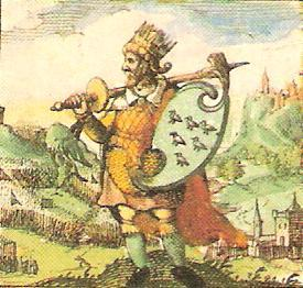 imaginary depiction of Ælle