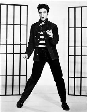 Elvis Presley in Jailhouse Rock (1957)