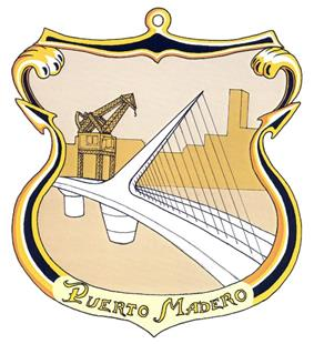 Official logo of Puerto Madero