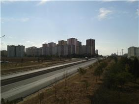 Emlak Konutları towerblocks – a prominent site of the city
