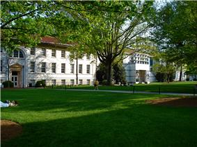 Main Quad on Emory University's Druid Hills Campus