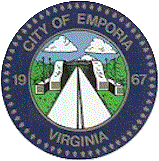 Official seal of Emporia, Virginia