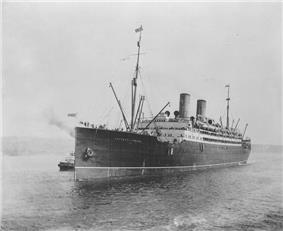 The RMS Empress of Ireland in 1908