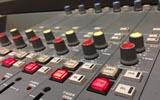 Engineer broadcast desk