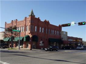 Ennis Commercial Historic District