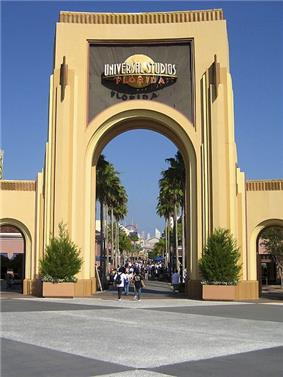 Entrance to Universal Studios Florida