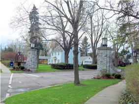 Entranceway at Main Street at Darwin Drive