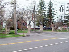 Entranceway at Main Street at High Park Boulevard