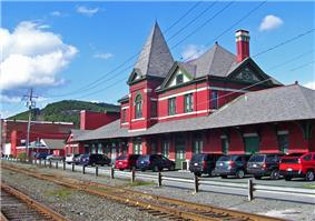 Erie Railroad Station