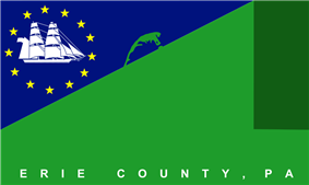 Flag of Erie County, Pennsylvania