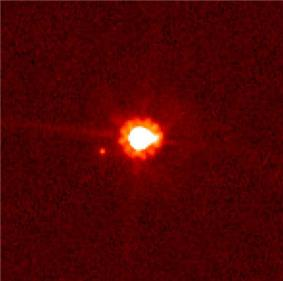 NASA image of Eris and Dysnomia