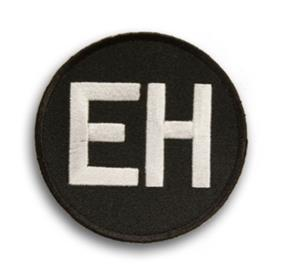 Ernie Harwell commemorative patch worn in 2010.