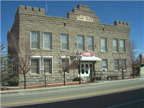 Esmeralda County Courthouse in Goldfield