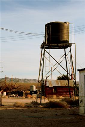 Essex water tower in 2006