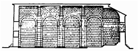 side cross section view