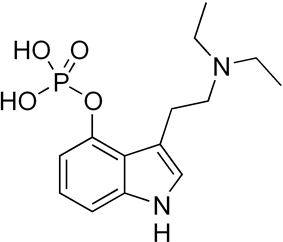 Skeletal formula of ethocybin