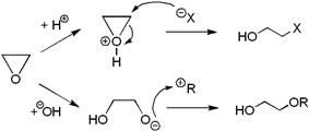 Ethylene oxide reactions