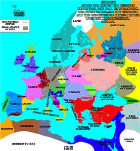 Europe around 1470