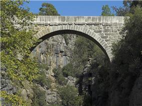 Eurymedon Bridge at Selge in 2009