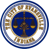 Official seal of Evansville