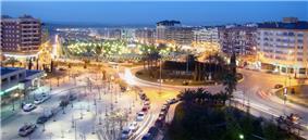 View of Paseo de España in Jaén