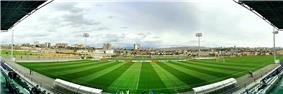 Panoramic view of Avan District from the Yerevan Football Academy