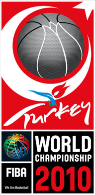 Official logo of the 2010 FIBA World Championship