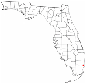 Location in the state of Florida