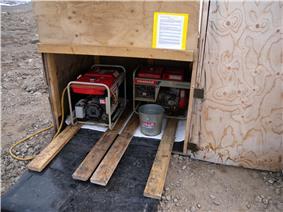 The Generator Shack at FMARS (2009).