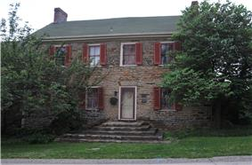 The Fullerton Inn, a historic site in the township