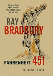 Cover shows a drawing of a man, who appears to be made of newspaper and is engulfed in flames, standing on top of some books. His right arm is down and holding what appears to be a paper fireman's hat while his left arm is wiping sweat from the brow of his bowed head. Beside the title and author's name in large text, there is a small caption in the upper left-hand corner that reads,