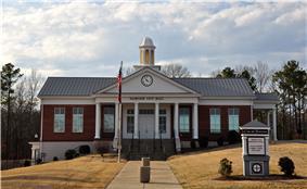 Fairview City Hall, February 2014.